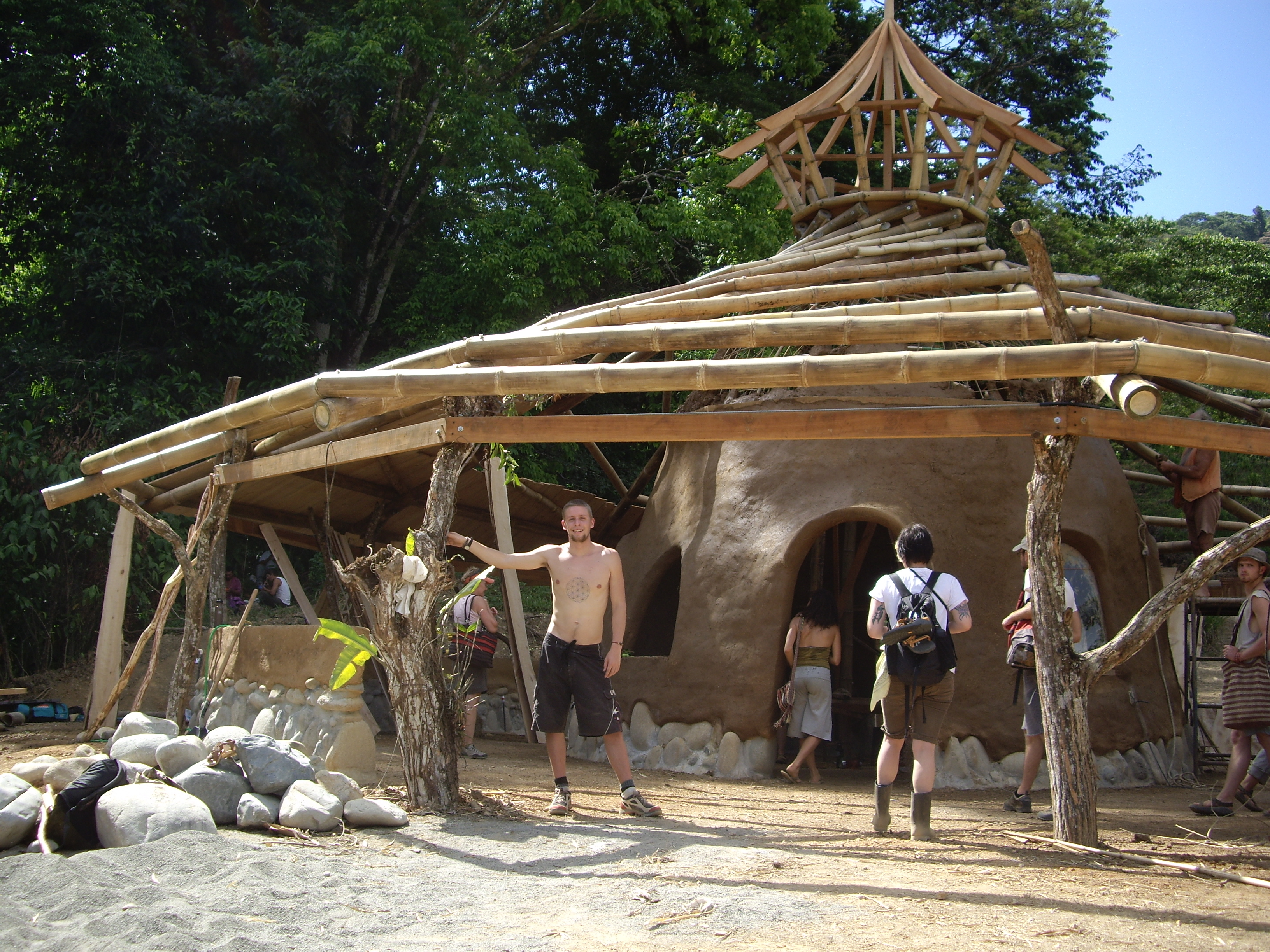 Natural building punk rock permaculture e zine for How to build a house in florida