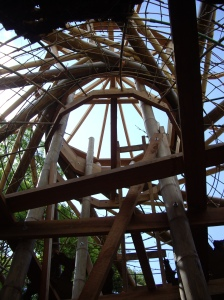 bamboo framing